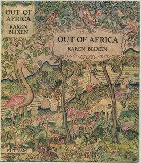 <i>Out of Africa</i> novel by Karen Blixen