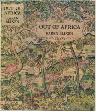 Out of Africa - First Edition (UK)