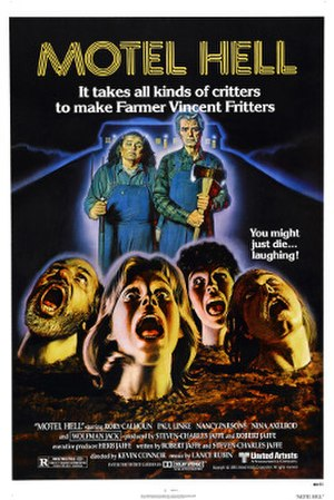 Motel Hell - Theatrical release poster.