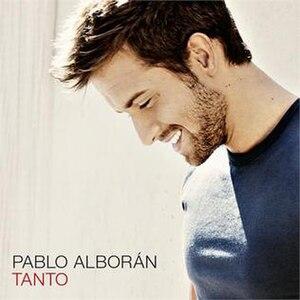 Tanto (Pablo Alborán song) - Image: Pablo Alborán Tanto