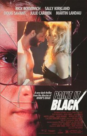 Paint It Black (film) - Image: Paint it black movie poster 1989