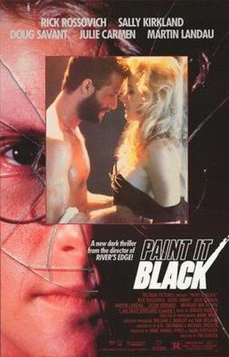 Paint It Black (1989 film) - Image: Paint it black movie poster 1989