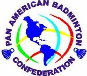 Badminton Pan Am - Logo of the Pan American Badminton Confederation prior to 2006