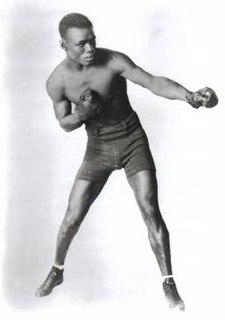 Panama Joe Gans Barbados boxer