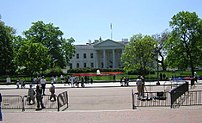 Pennsylvania Avenue is now closed to all traff...