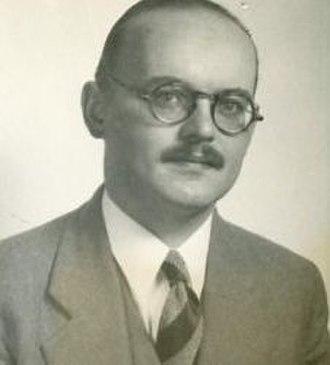Peter A. Boodberg - Peter Boodberg (c. 1938)