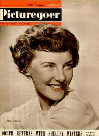 Picturegoer - Petula Clark on the cover of the 3 December 1949 issue