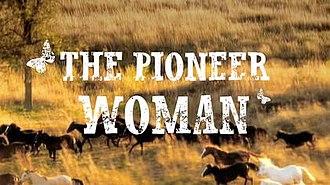The Pioneer Woman (TV series) - Image: Pioneer Woman logo