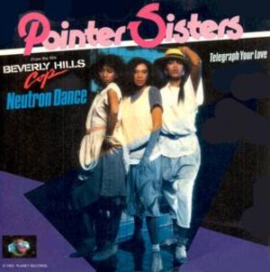 Neutron Dance - Image: Pointer Sisters Neutron Dance single