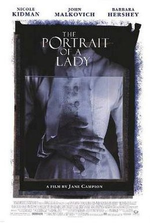 The Portrait of a Lady (film) - Theatrical release poster