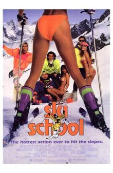 Poster of the movie Ski School.jpg