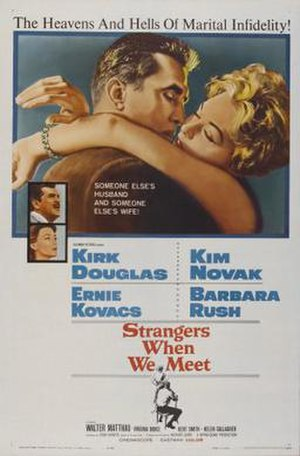 Strangers When We Meet (film) - Image: Poster of the movie Strangers When We Meet