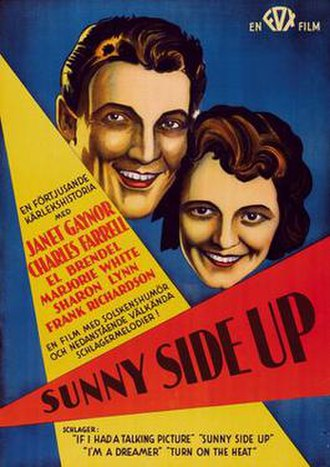 Sunny Side Up (1929 film) - Image: Poster of the movie Sunny Side Up