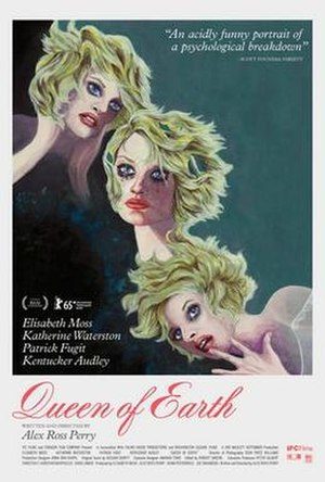 Queen of Earth - Theatrical release poster