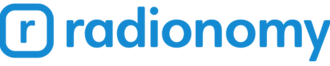 Radionomy - Previous logo from 2015 to 2017.