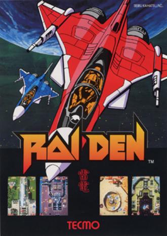 Raiden (video game) - Japanese Arcade flyer