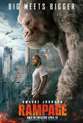 Rampage (2018 film) - Theatrical release poster