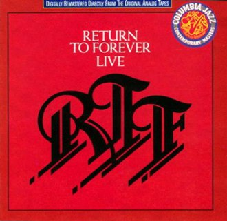 Live (Return to Forever album) - Image: Return To Forever CD Live