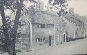 Richard Sparrow House - Sparrow House in 1910