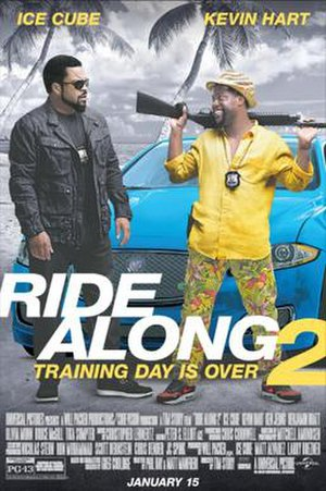 Ride Along 2 - Theatrical release poster