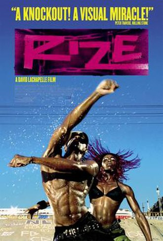 Rize (film) - Theatrical poster