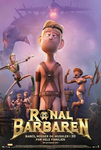 Picture of a movie: Ronal The Barbarian