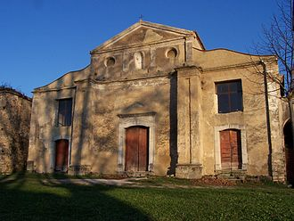 Roscigno - The church of Roscigno Vecchia.