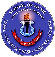 Armed Forces School of Music seal.