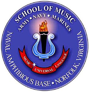 United States Armed Forces School of Music - Image: SOM Seal w glow