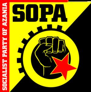 Socialist Party of Azania - Image: SOPA logo
