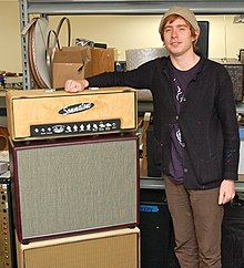 Scott McMicken and his Custom Sommatone Overdrive 75 Amplifier