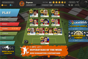 EA Sports FIFA Superstars - Screenshot of the game