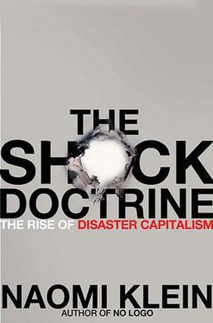 The Shock Doctrine - Front cover of The Shock Doctrine: The Rise of Disaster Capitalism
