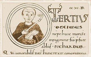 Sichard Italian abbot