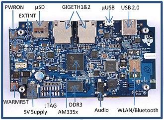 Sitara ARM Processor - Image: Sitara ARM MPU within SDK