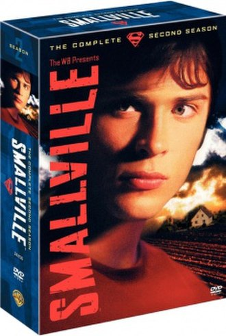 Smallville (season 2) - DVD cover