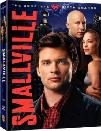 Smallville (season 6) - DVD and Blu-ray cover