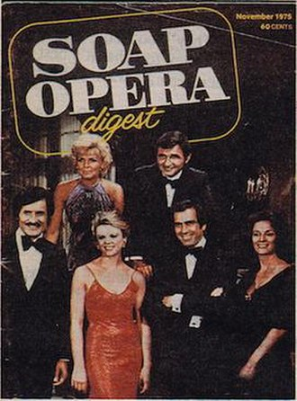 Soap Opera Digest - Debut issue (November 1975), featuring the cast of Love of Life