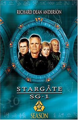 Stargate SG-1 (season 7) - DVD cover
