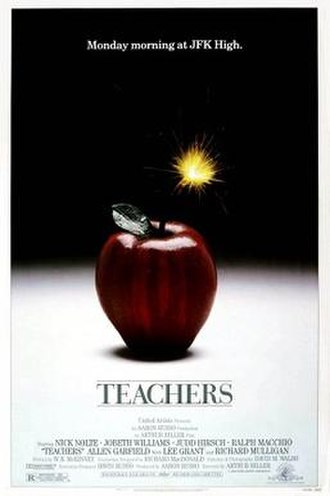Teachers (film) - Image: Teachers (movie poster)