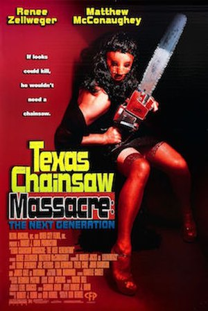 Texas Chainsaw Massacre: The Next Generation - Promotional release poster