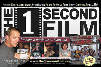 The 1 Second Film - The 1 Second Film flier