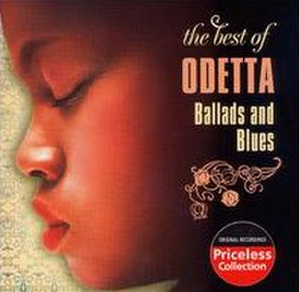 The Best of Odetta: Ballads and Blues - Image: The Best Of Odetta