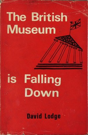 "The British Museum Is Falling Down - First edition (note the absence of a capital initial on ""is"", in UK style)"