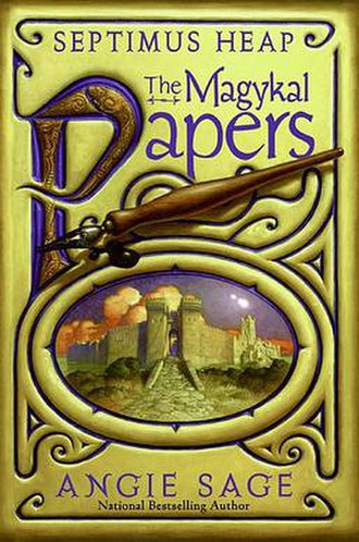 Septimus Heap: The Magykal Papers - Cover art for The Magykal Papers by Mark Zug