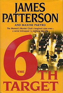 <i>The 6th Target</i> book by James Patterson