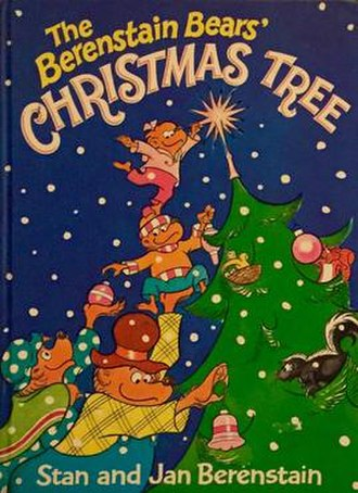 The Berenstain Bears' Christmas Tree - Cover of original storybook published by Random House (1980)
