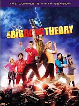 The Big Bang Theory (season 5) - Fifth season DVD cover art