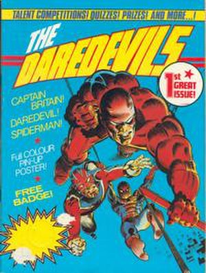 The Daredevils - Image: The Daredevils cover number 1
