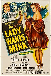 <i>The Lady Wants Mink</i> 1953 film by William A. Seiter